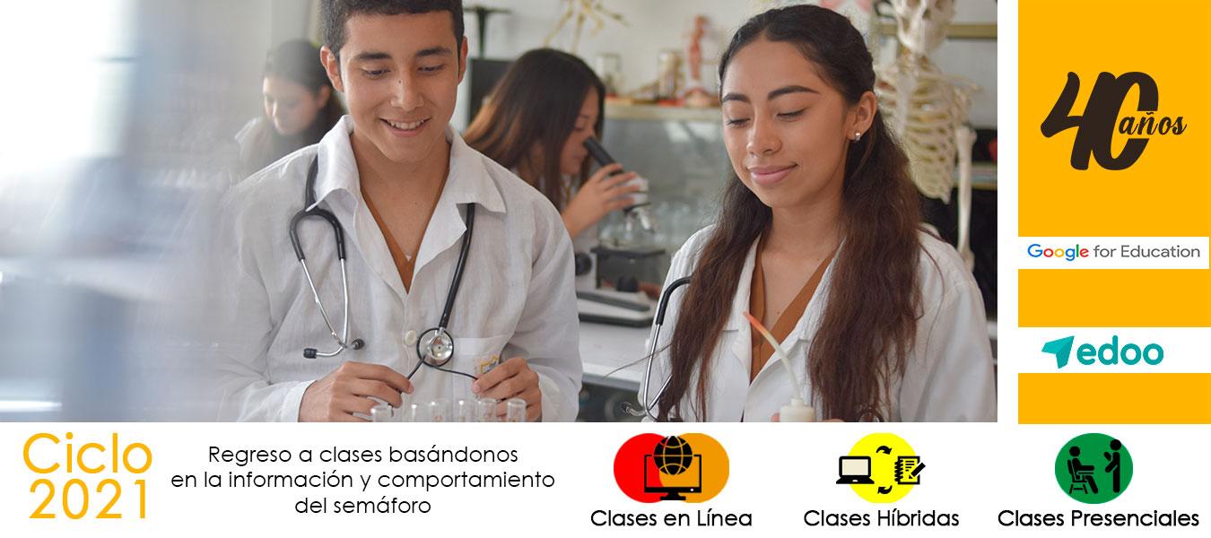 Laboratorio de Biología, Química y Física